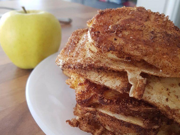 Apfelkiechle : beignets aux pommes alsaciens