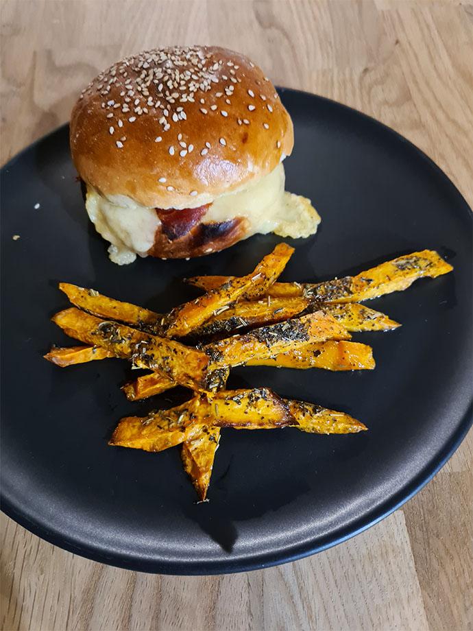 burger-maison-frites-patate-douce