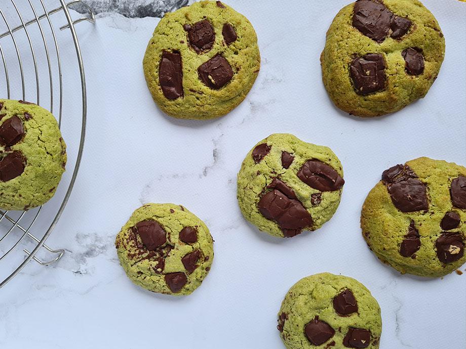 cookies-matcha-chocolat-noir